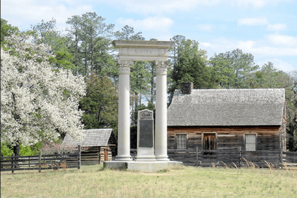 Bennett Place State Historic Site in Durham