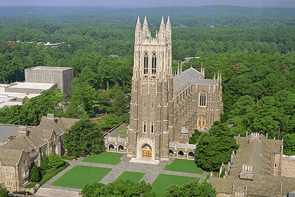 Duke University Chapel in Durham